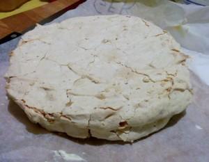 Macadamia Nut Meringue Cake